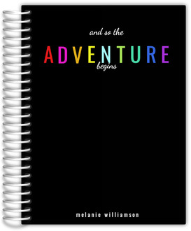 The Adventure Begins Custom Daily Planner