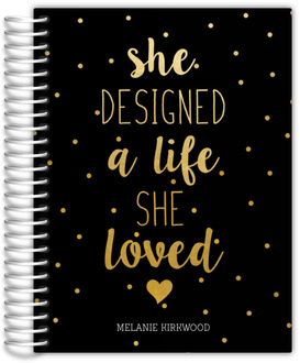 Bronwyn Kennedy 8x11 HC Life She Loved Daily Planner