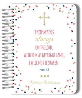 Bible Verse Cheerful Confetti Monthly Planner