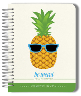 Fun Pineapple Monthly Planner