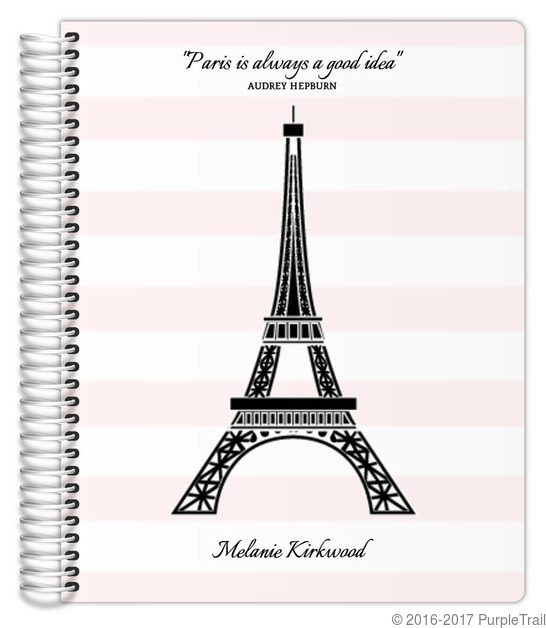 Pretty In Paris Daily Planner Daily Planners - Custom daily planner