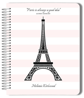 Pretty in Paris Monthly Planner