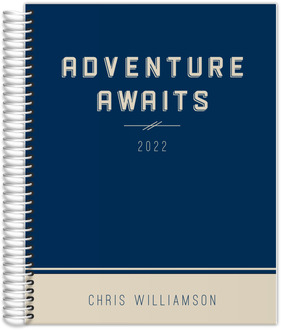 Classic Adventure Awaits Daily Planner