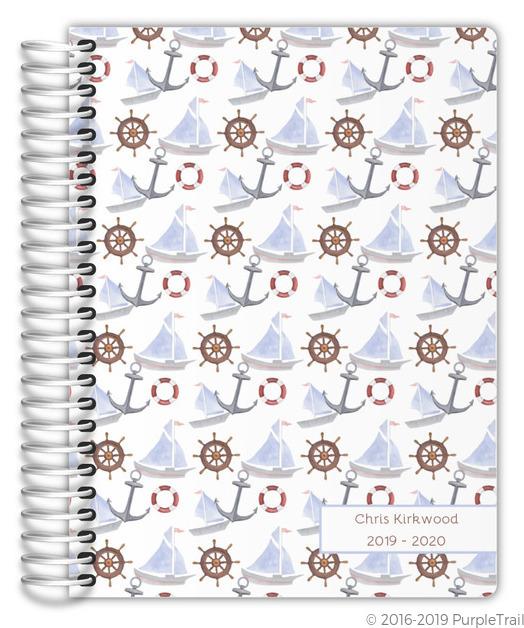 Greek Key Pattern Custom Daily Planner Daily Planners - Custom daily planner