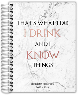Marble Drink  Know Things Daily Planner