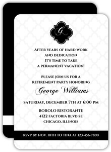 retirement invitations retirement party invites