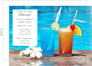 Poolside Drinks Getaway
