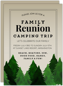Family Trip Invitation