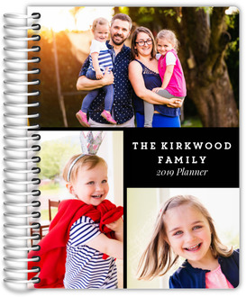 Photo Grid Monthly Planner