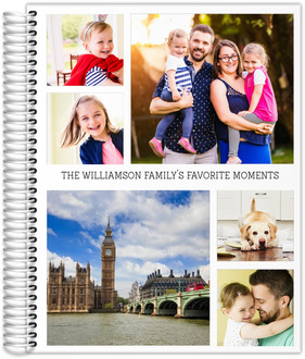 Favorite Moments Photo Collage Daily Planner