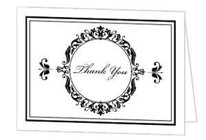 Elegant Business Thank You Card