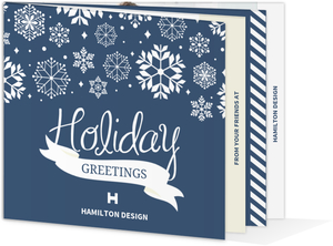 Wonderland Business Holiday Photo Card