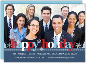 Classic Business Holiday Greeting Card
