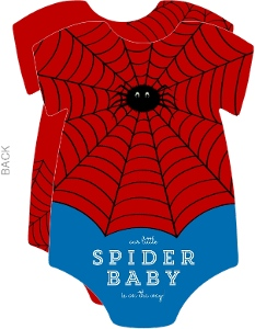 Superhero Spider Baby Shower Invitation