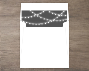 Tree Lights Envelope Liner
