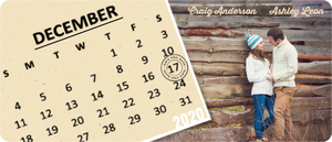 Unique Fun Save The Date Magnet Calendar