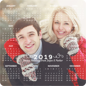 Simple Photo Fridge Magnet Calendar