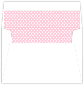 Purple And Pink Princess Tea Party Envelope Liner