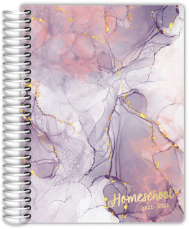 Teal Diamond Pattern Daily Planner