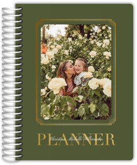 Modern Flower Monthly Planner