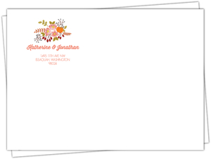 Autumn Floral Envelope