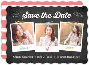 Taped Snapshots Graduation Save The Date