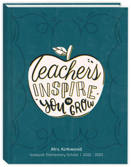 Inspire You To Grow Teacher Planner