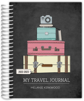 Camera And Luggage Travel Journal