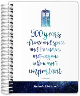 Time & Space Quote Travel Journal