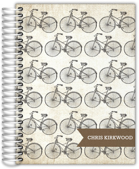Vintage Bicycle Travel Journal