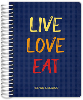 Live Love Eat Recipe Journal