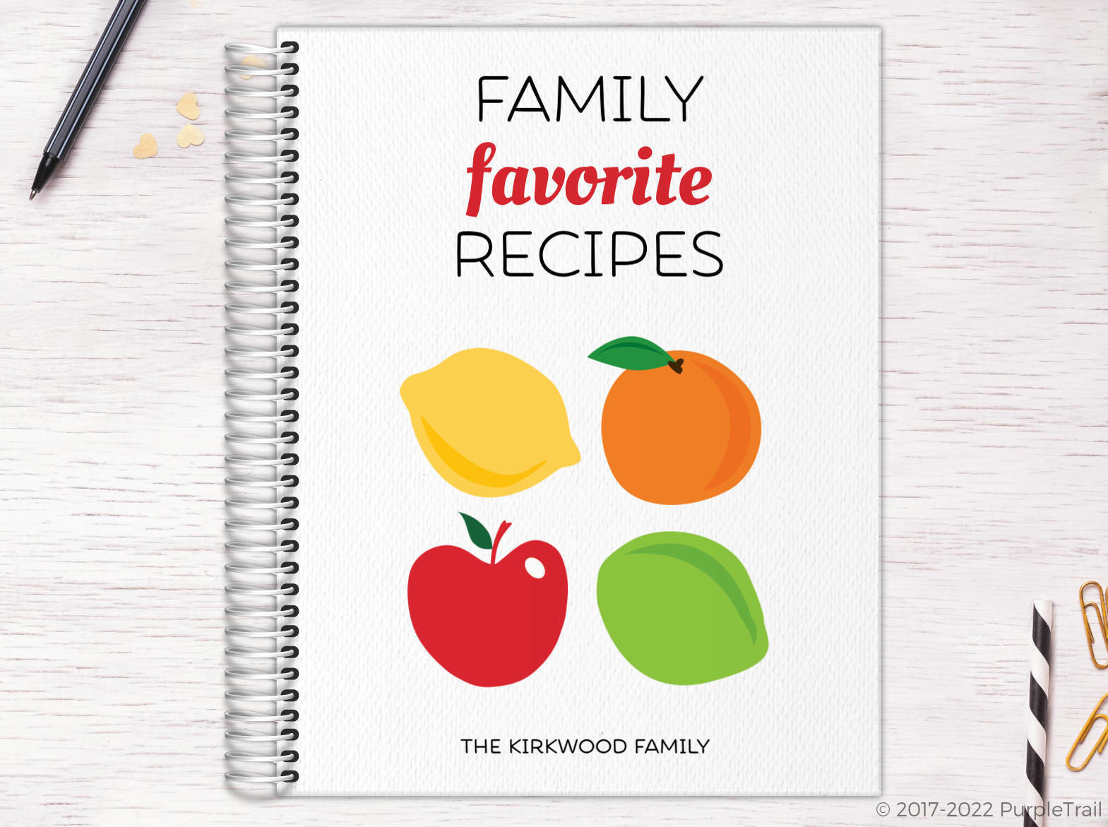 Family Favorite Recipe Journal