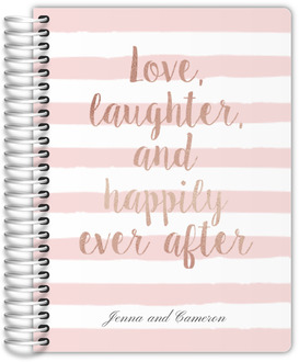 Happily Ever After Wedding Journal