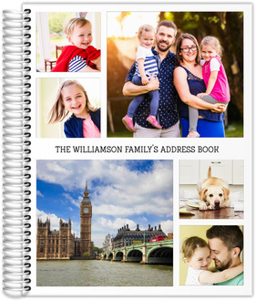 Photo Collage Address Book