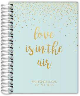 Love In The Air Wedding Journal