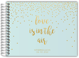 Love In The Air Wedding Guest Book