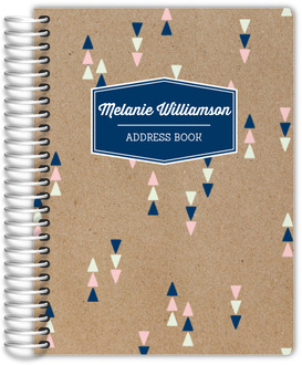 Kraft Mod Triangles Address Book