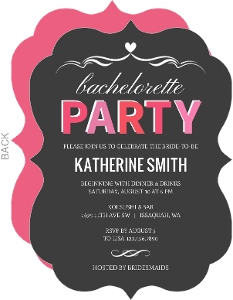 Pink Bride To Be Bachelorette Party
