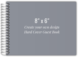 Create Your Own 8x6 Hard Cover Guest Book
