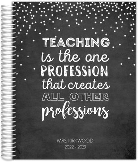 The One Profession Teacher Planner