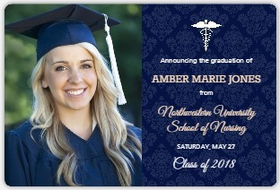 custom magnet graduation announcements