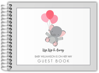 Up Up & Away Baby Shower Guest Book