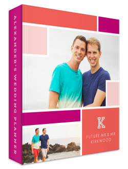 Colorful Photo Block Gay Wedding Planner