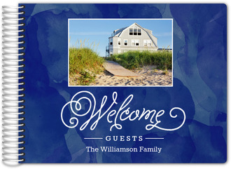 Watercolor Welcome Guest Book