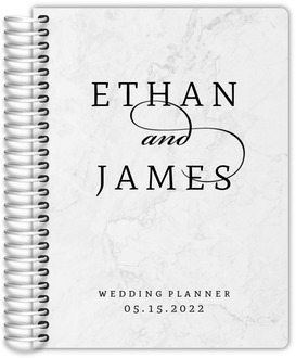 Elegant Marble Gay Wedding Planner