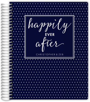 Navy Happily Ever After Gay Wedding Planner