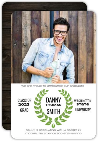 Movie Poster Graduation Announcement