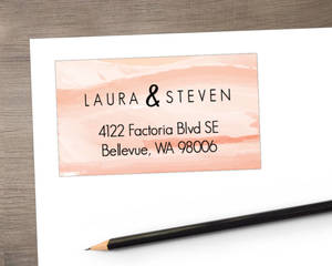 Desert Sunset Address Label