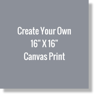 Create Your Own 16 X 16 Canvas Print