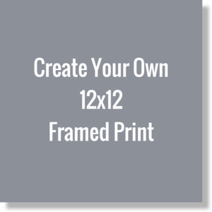 Create Your Own 12x12 Framed Print